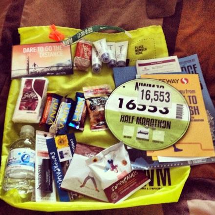 Inside my Nike Volt Bag