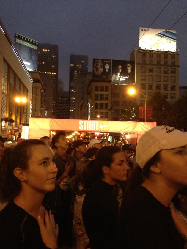 Star Spangled Banner at the Start Line