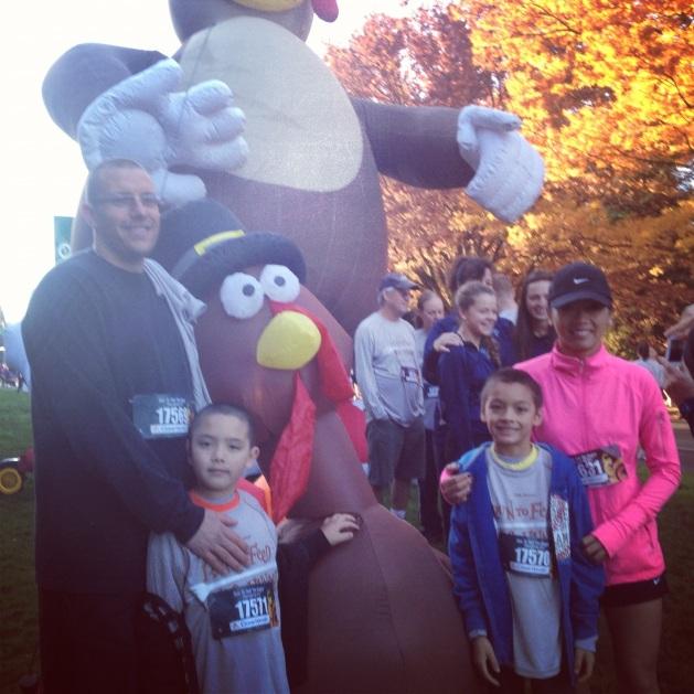 Family Fitness on Thanksgiving