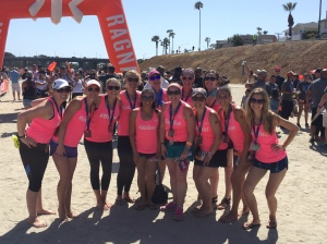 12 girls, 2 vans, 2 days, and 200ish miles from Huntington Beach to San Diego for So Cal Ragnar,
